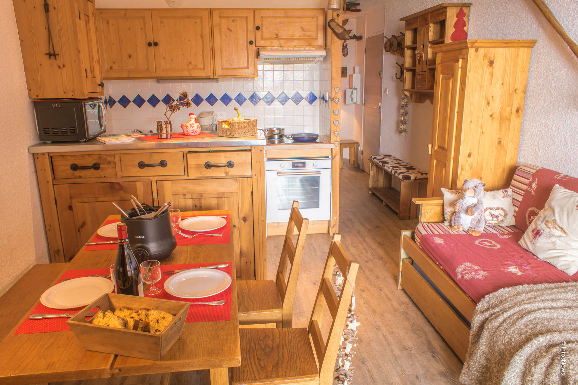 rent an apartment in val thorens